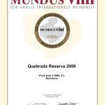 Quebrada Reserva 13 Gold