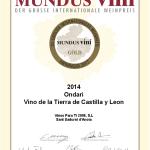 Mundus Vini Oro 2017